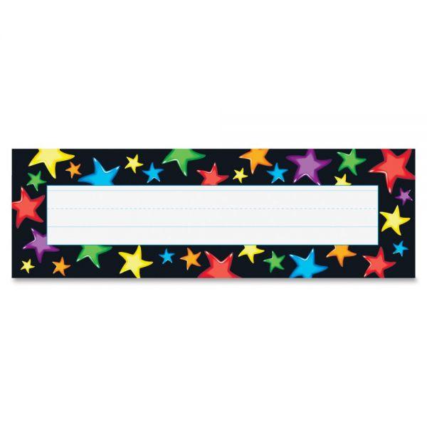 Trend Gel Stars Desk Name Plates