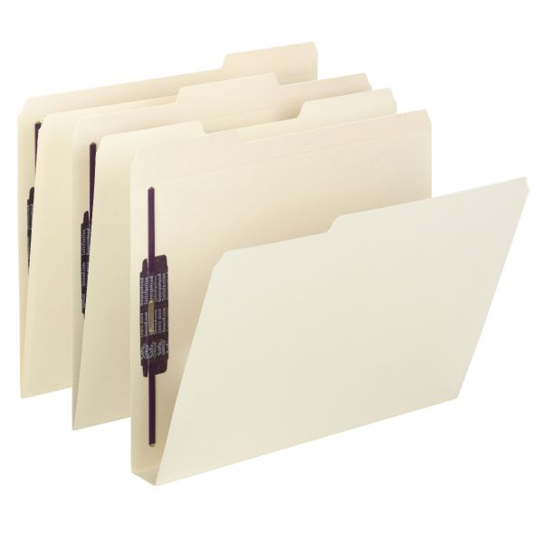 Smead Extra-Capacity Fastener Folders - SafeShield