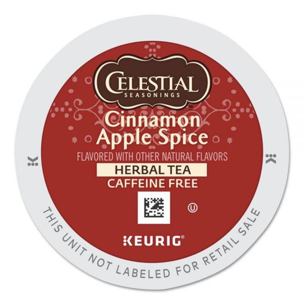 Celestial Seasonings Cinnamon Apple Spice K-Cups, 24/Box
