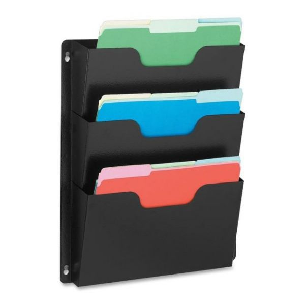Buddy Triple-Pocket Hanging Wall File Pockets
