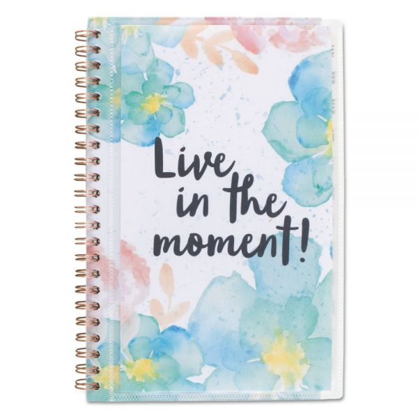 AT-A-GLANCE B-Positive Weekly/Monthly Planner
