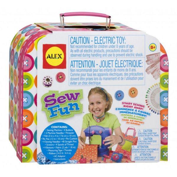 ALEX Toys Sew Fun Sewing Machine Kit