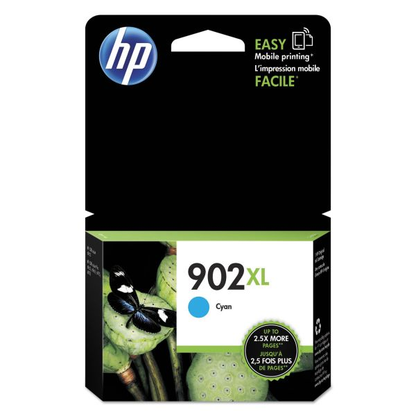 HP 902XL High-Yield Cyan Ink Cartridge (T6M02AN)