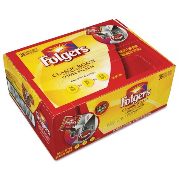 Folgers Ground Coffee Packets