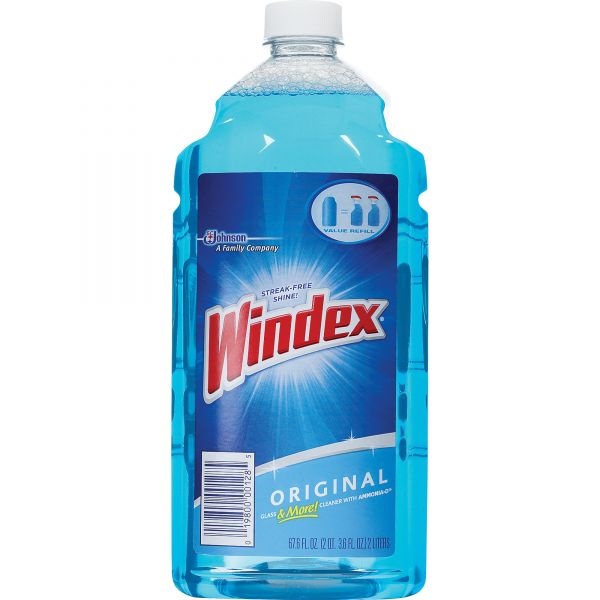 Windex Powerized Glass Cleaner with Ammonia-D