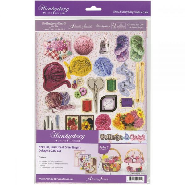 Hunkydory For Her A4 Collage-A-Card Luxury Card Set
