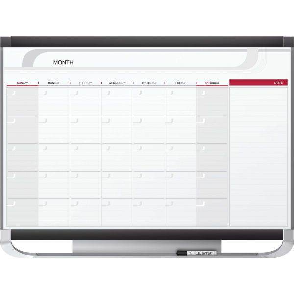 Quartet Prestige 2 Monthly Dry Erase Calendar