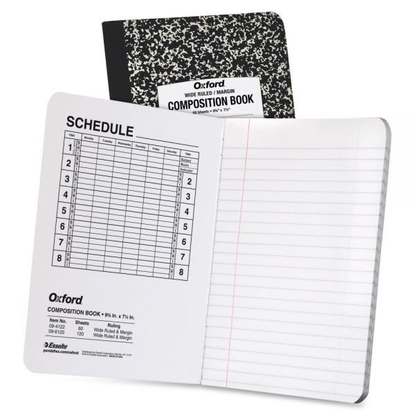 Oxford Recycled Composition Notebook