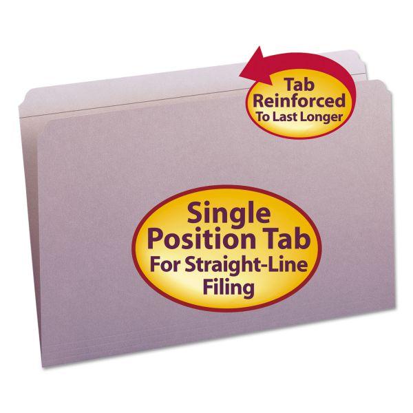 Smead Lavender Colored File Folders
