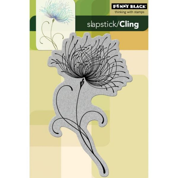 """Penny Black Cling Rubber Stamp 4""""X6"""" Sheet"""