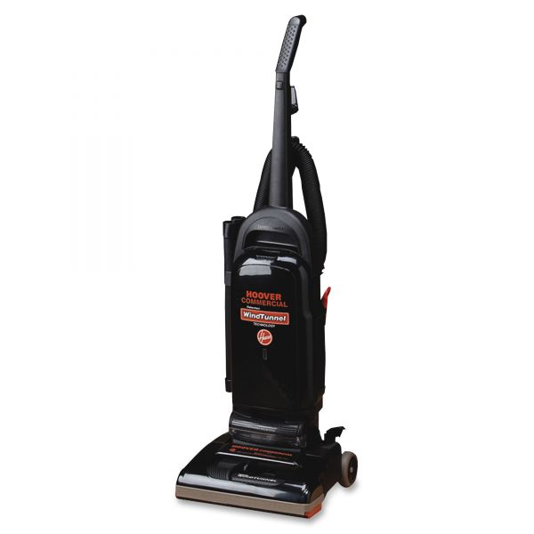 """Hoover WindTunnel 13"""" Bagged Upright Vacuum"""