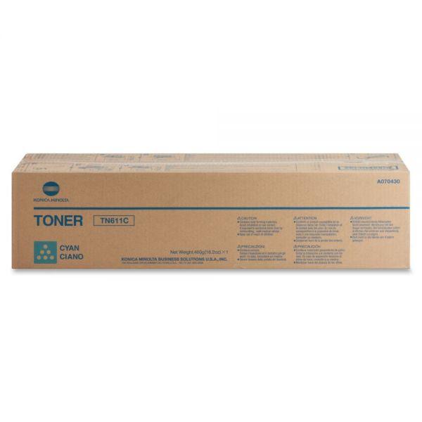 Konica Minolta TN-611C Cyan Toner Cartridge