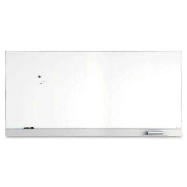 "Iceberg 96"" x 46"" Polarity Magnetic Painted Steel Dry Erase Whiteboard"