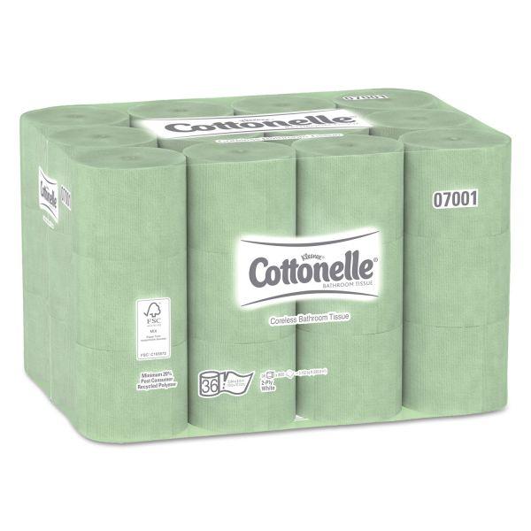 COTTONELLE Coreless Toilet Paper
