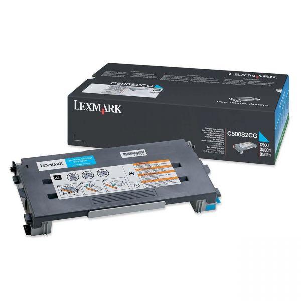 Lexmark C500S2CG Cyan Toner Cartridge