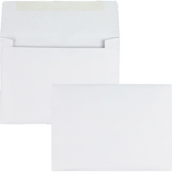 Quality Park Classic Style White Invitation Envelopes