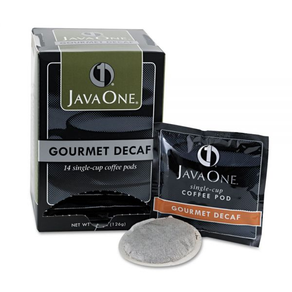 Java One Single Cup Coffee Pods - Decaf
