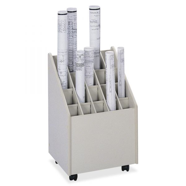 Safco Laminate Mobile Roll File