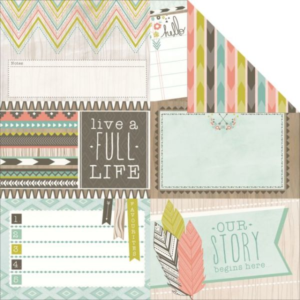 Bow & Arrow Double-Sided Cardstock