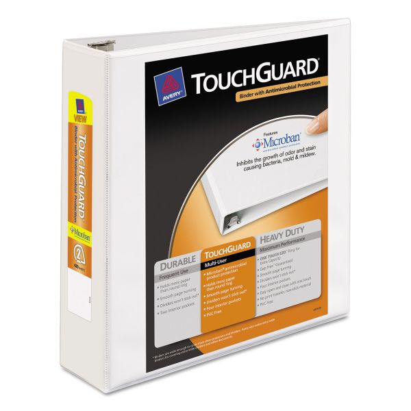 "Avery TouchGuard 2"" 3-Ring View Binder"