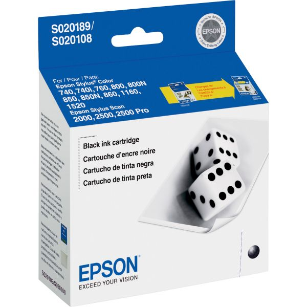 Epson S189108 Black Ink Cartridge