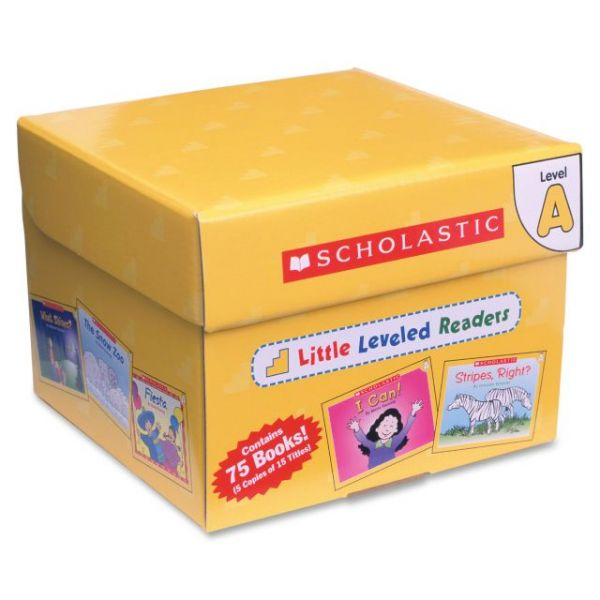 Scholastic Little Leveled Readers: Level A Box Set Education Printed Book - English