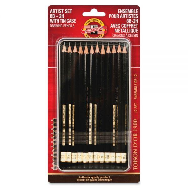 Koh-I-Noor Artist Drawing Pencil Set