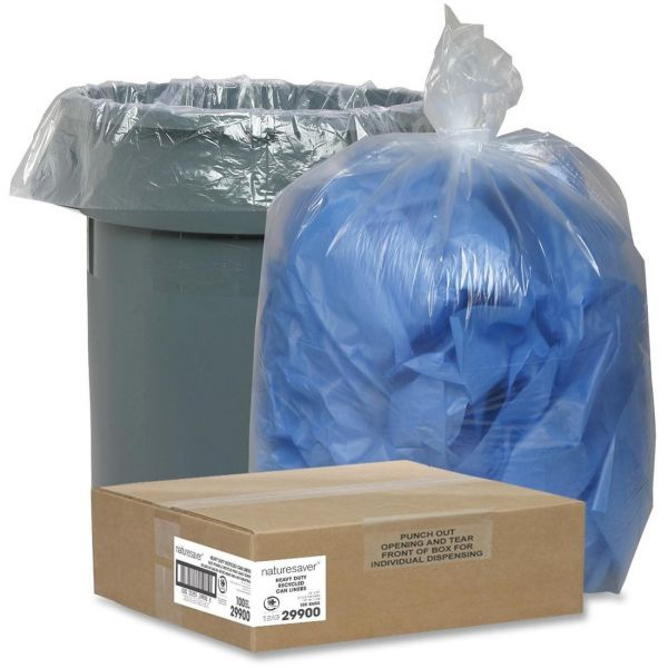 Nature Saver Recycled 33 Gallon Trash Bags