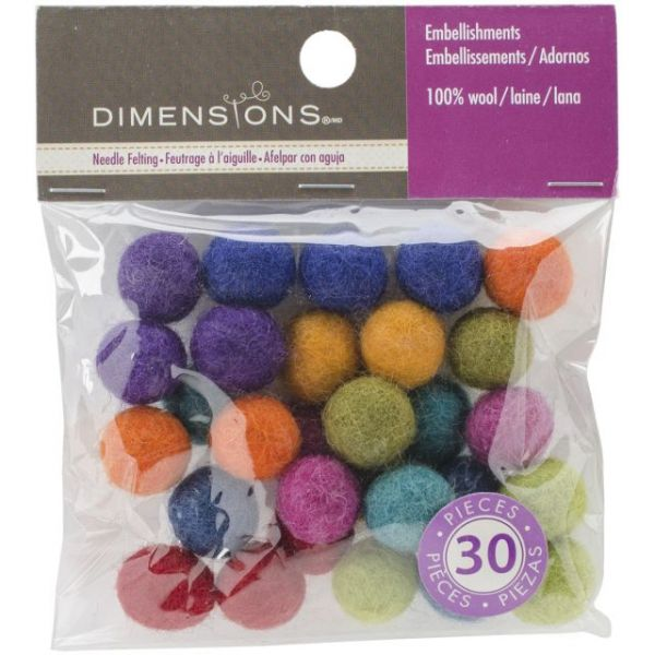 Feltworks Ball Assortment