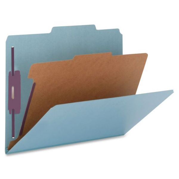Nature Saver Top-Tab Blue Classification Folders