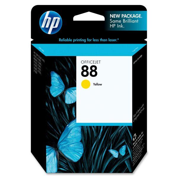HP 88 Yellow Ink Cartridge (C9388AN)