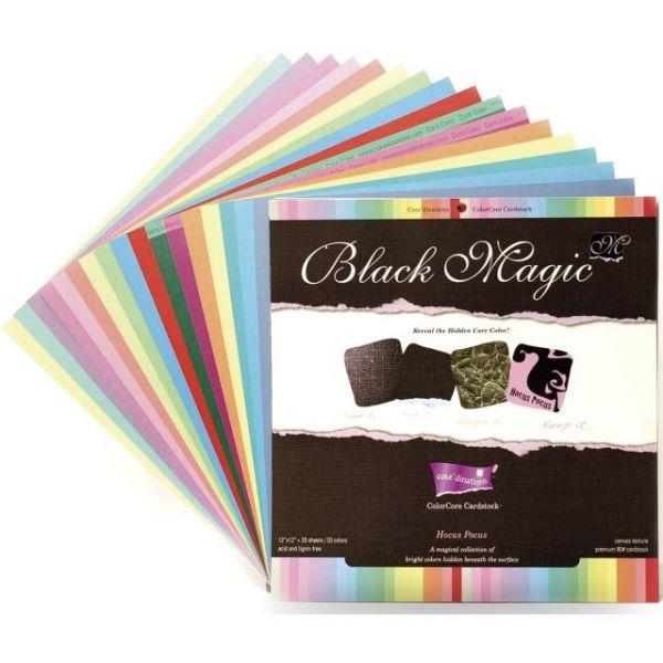 Core'dinations Black Magic Hocus Pocus Cardstock Pad