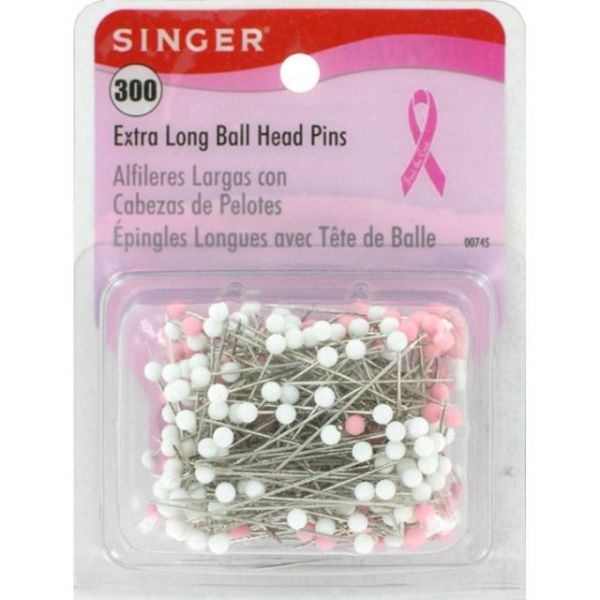 Extra Long Ball Head Pins