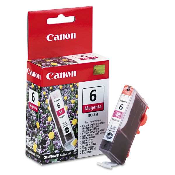 Canon BCI6M (BCI-6) Ink, Magenta