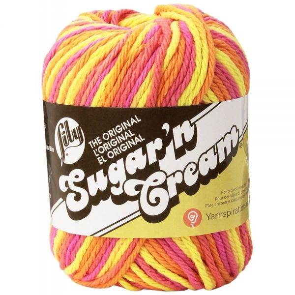 Lily Sugar'n Cream Yarn - Playtime