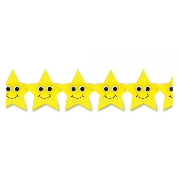 Hygloss Happy Yellow Stars Border
