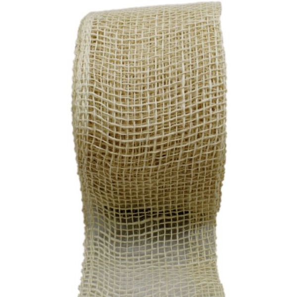 "Jute Ribbon 4""X10yd"
