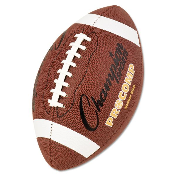 Champion Sports Pro Composite Junior Size Football