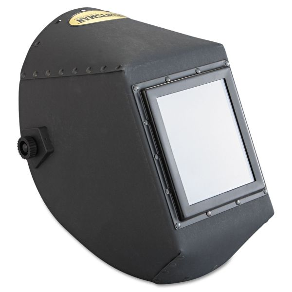 "Jackson Safety* HUNTSMAN Fiber Shell Welding Helmet, 4 1/4"" x 5 1/4"", Black"