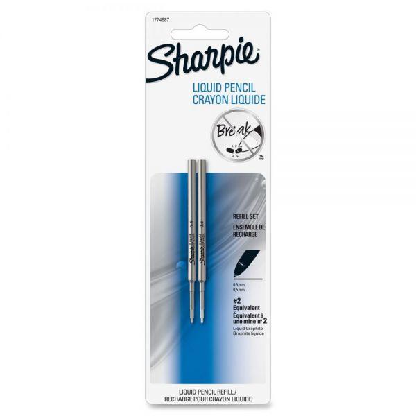Sharpie Liquid Graphite Lead Refills, 0.5 mm, 2 per Pack