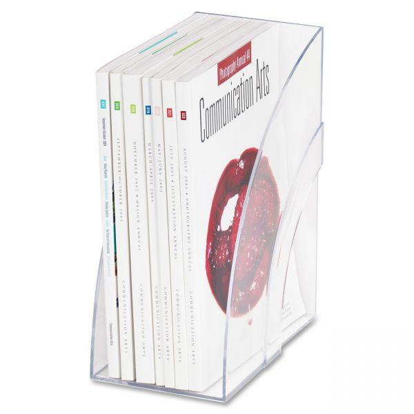 Rubbermaid Deluxe Plastic Magazine Holder