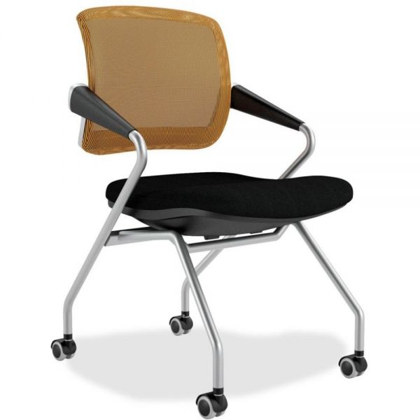 Mayline Valoré Series Mid-Back Nesting Chairs