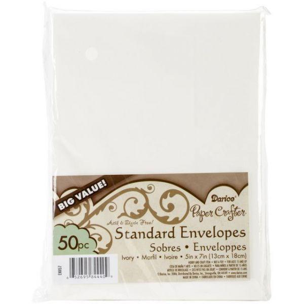 """Heavyweight A7 Envelopes (5.25""""X7.25"""") 50/Pkg"""