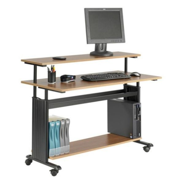 Safco Space Saving Adjustable Workstation