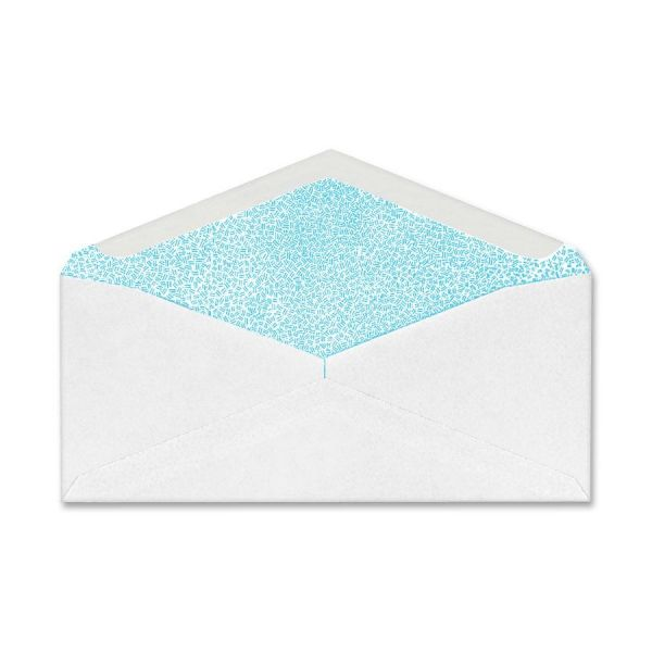 Security White Wove Commercial Window Envelopes