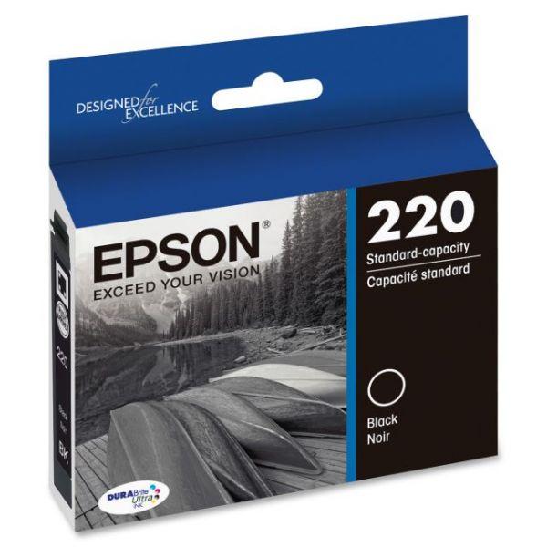 Epson 220 Black DURABrite Ultra Ink Cartridge (T220120)