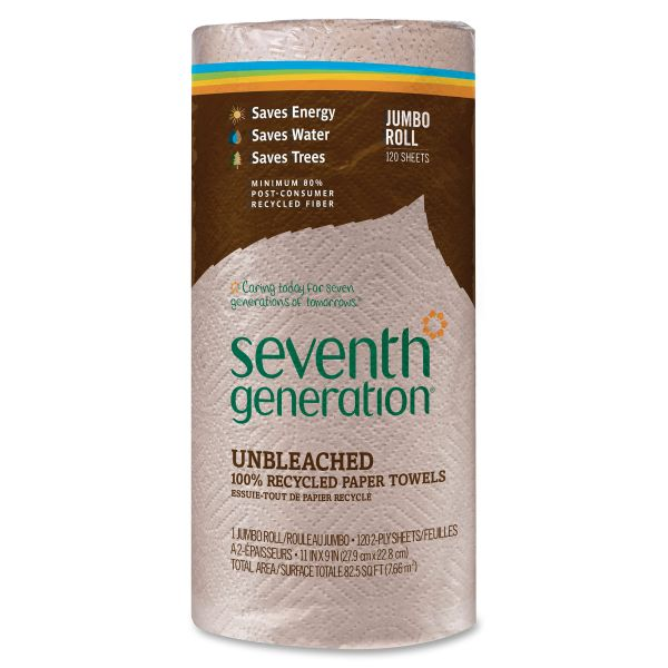 Seventh Generation 100% Recycled Jumbo Paper Towels