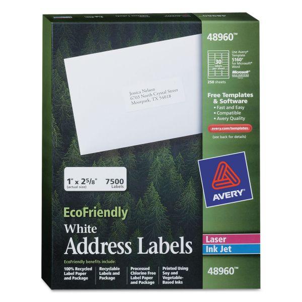 Avery 48960 EcoFriendly Address Labels
