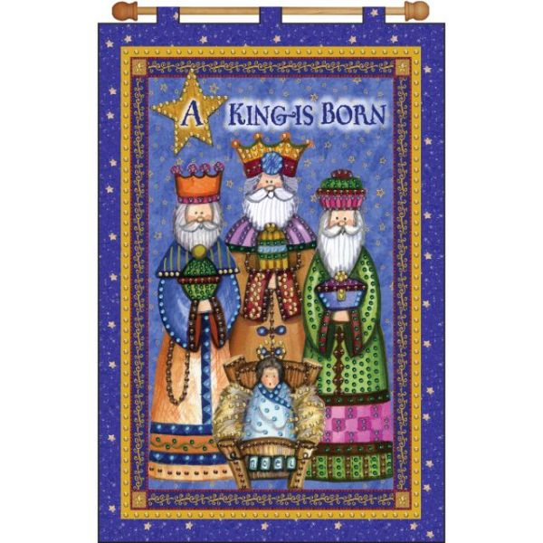 A King Is Born Jeweled Banner Kit