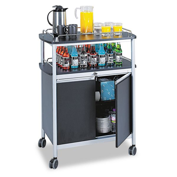 Safco Mobile Beverage Cart
